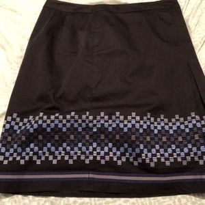 LOFT A-line skirt